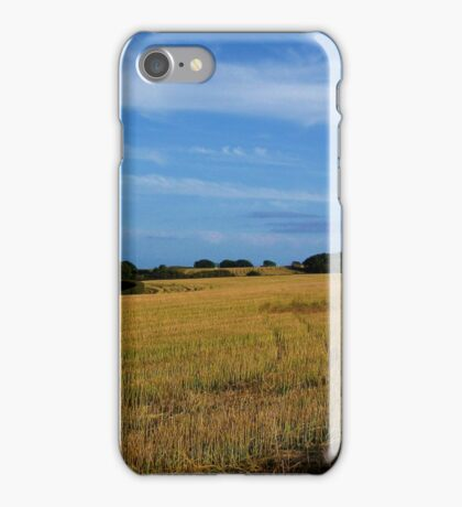 South Devon Landscape I iPhone Case/Skin