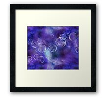 space universe Framed Print