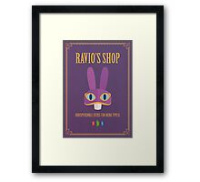 A Link Between Worlds: Ravio Poster Framed Print