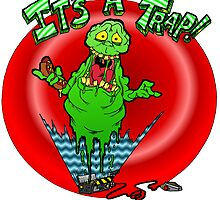 Slimer it's a trap by Skree
