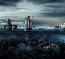 Fallen tower by Alexander Koshelkov