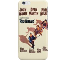 Rio Bravo Poster iPhone Case/Skin