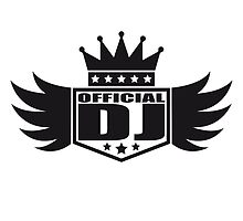 DJ wings Crown King banner by Style-O-Mat
