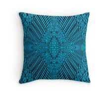 Blue Maple Korean  Throw Pillow