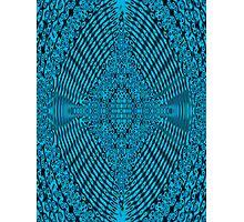 Blue Maple Korean  Photographic Print