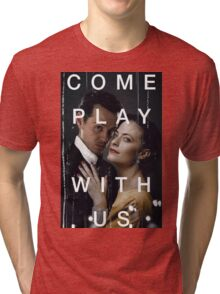 Playing the great game. Tri-blend T-Shirt