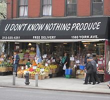 You Don't Know Nothing Produce by Patricia127