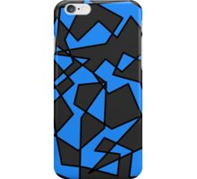 Blue/Black Abstract Phone Case iPhone Case/Skin