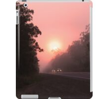 A perfect spot for a break in the journey iPad Case/Skin