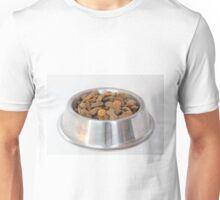 Bowl with dry dog food Unisex T-Shirt