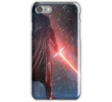 Kylo Ren Watercolor 2 iPhone Case/Skin