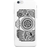 Click! Doodled Camera iPhone Case/Skin