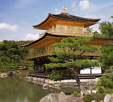 Kinkaku-ji Temple of the Golden Pavilion in Kyoto Japan art photo print by ArtNudePhotos