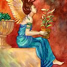 The Gardening Angel by Janet Chui