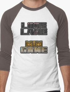 Lose Lane, Win Game - Please Like and Share Men's Baseball ¾ T-Shirt