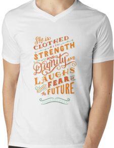 Proverbs 31 Mens V-Neck T-Shirt