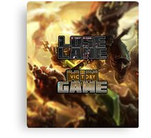 Lose Lane, Win Game - Please Like and Share Canvas Print
