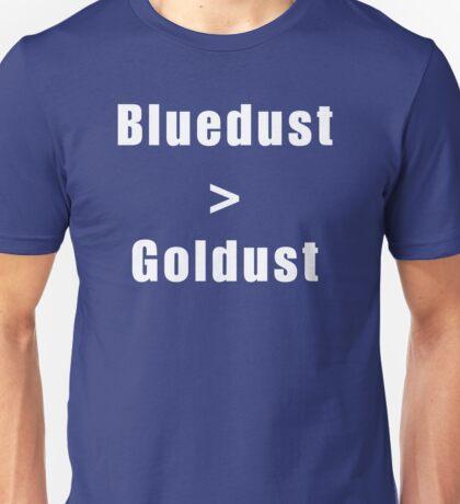 Bluedust > Goldust  Unisex T-Shirt