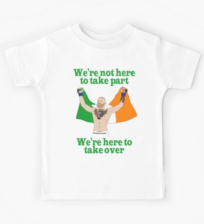 Conor McGregor MMA Kids Tee