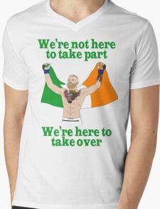 Conor McGregor MMA Mens V-Neck T-Shirt
