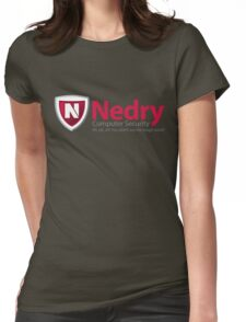 Computer Security Womens Fitted T-Shirt