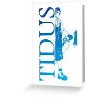 Tidus - Final Fantasy X Greeting Card