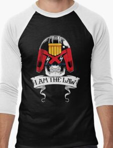 I am the LAW! Men's Baseball ¾ T-Shirt