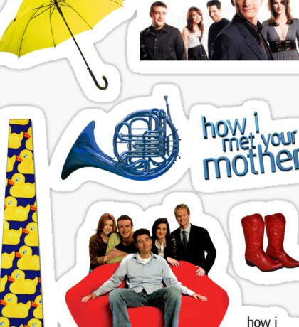HIMYM stickers Sticker
