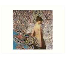 Iona Art Print