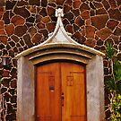 Church Door by Barbara Morrison