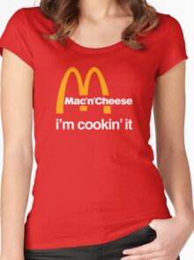 I'm cookin' it Women's Fitted Scoop T-Shirt