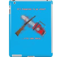 Evil Dead: It's Dangerous to go alone!  iPad Case/Skin
