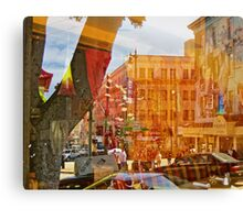 Columbus and Broadway Canvas Print
