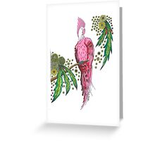 Pretty And Pink In Paradise Greeting Card
