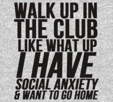 Social Anxiety At The Club by mralan
