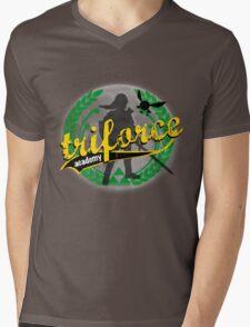 Tri-Force Mens V-Neck T-Shirt