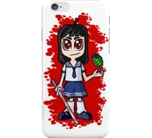 Japanese School girl iPhone Case/Skin