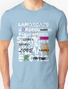 al abut words  Unisex T-Shirt
