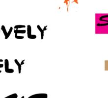 al abut words  Sticker