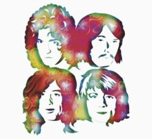 LED ZEPPELIN BAND FACES (ACID TRIP) by Endlessgrief