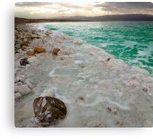 Dead Sea Blue Canvas Print