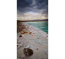 Dead Sea Dark Tall Photographic Print