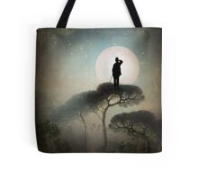 The Man in the Moon Tote Bag