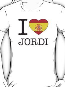 I ♥ JORDI T-Shirt