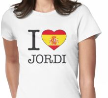 I ♥ JORDI Womens Fitted T-Shirt