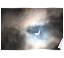 Eclipse and Rainbow Poster