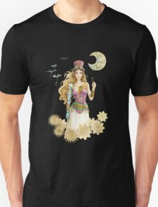'The Key' Steam punk girl by Scot Howden Unisex T-Shirt