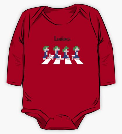 The Lemmings One Piece - Long Sleeve