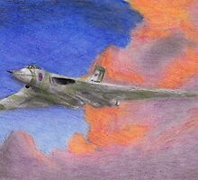 XH558 - The Spirit of Great Britain by Steph Nidd