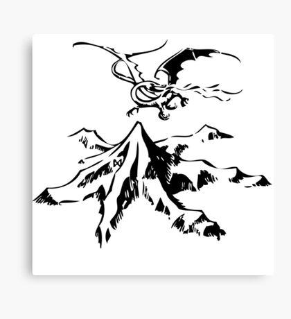 Erebor&Smaug Canvas Print